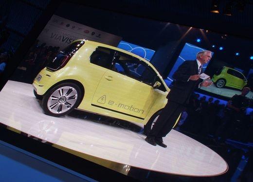 Volkswagen E-Up! concept - Foto 4 di 10