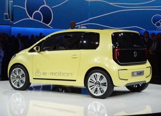 Volkswagen E-Up! concept - Foto 7 di 10