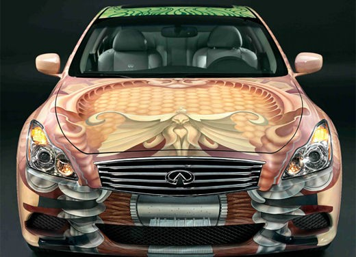 Infiniti G37 Coupé Anniversary Art Car