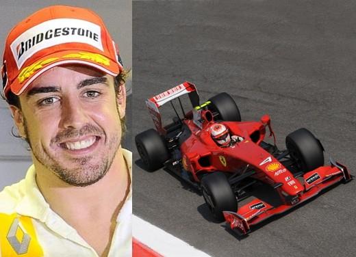 Alonso alla Ferrari