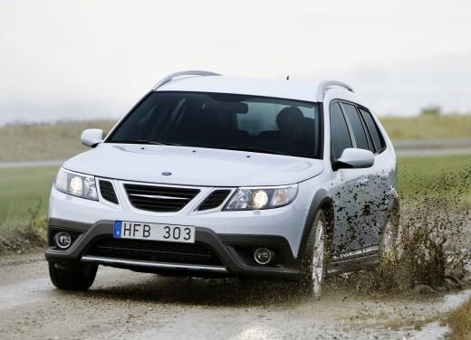 Nuova Saab 9-3X a trazione integrale XWD - Foto 13 di 22