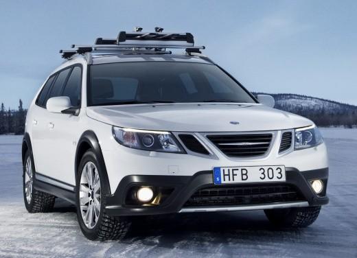 Nuova Saab 9-3X a trazione integrale XWD - Foto 17 di 22