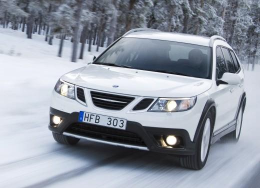Nuova Saab 9-3X a trazione integrale XWD - Foto 18 di 22