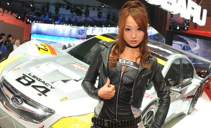 Salone Auto Tokyo 2009 – Girls