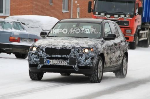 Nuova BMW X3 in anteprima mondiale le prime foto scoop della BMW X3