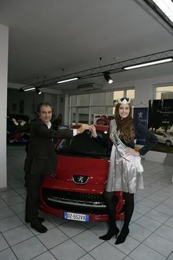 Peugeot 107 e Miss Italia