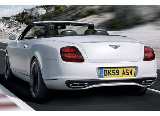 Bentley Continental Supersports Convertible - Foto 3 di 8