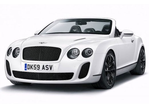 Bentley Continental Supersports Convertible - Foto 4 di 8