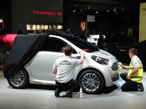 Aston Martin Cygnet V8 per il futuro? - Foto 14 di 18