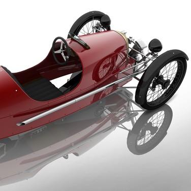 Morgan SuperSport Junior Pedal Car - Foto 3 di 9