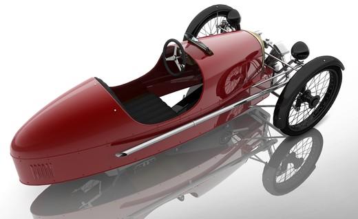 Morgan SuperSport Junior Pedal Car - Foto 4 di 9