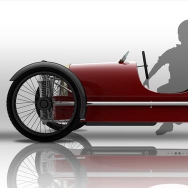 Morgan SuperSport Junior Pedal Car - Foto 5 di 9