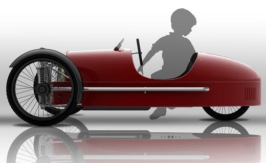 Morgan SuperSport Junior Pedal Car - Foto 6 di 9