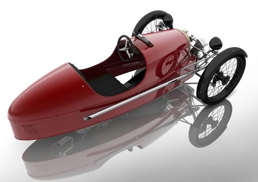 Morgan SuperSport Junior Pedal Car - Foto 7 di 9