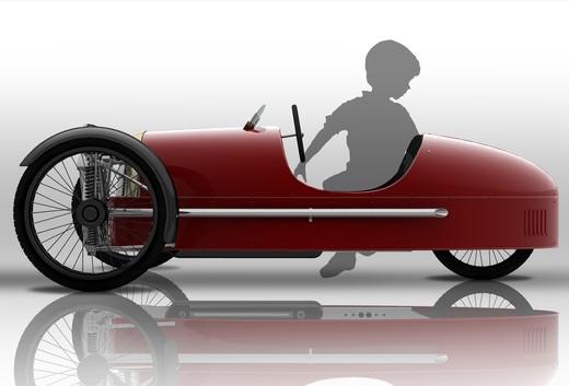 Morgan SuperSport Junior Pedal Car - Foto 8 di 9