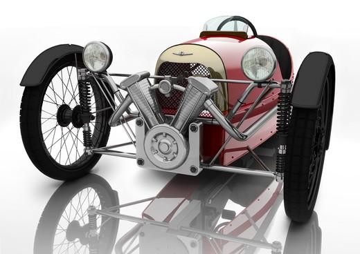 Morgan SuperSport Junior Pedal Car - Foto 9 di 9