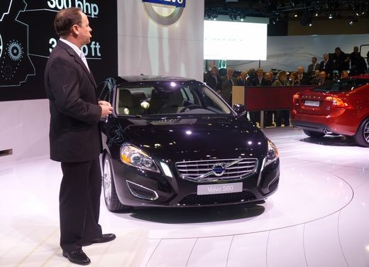 Volvo S60 al Salone di New York 2010
