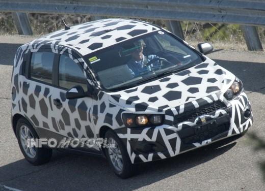 Chevrolet Aveo Spy - Foto 6 di 6