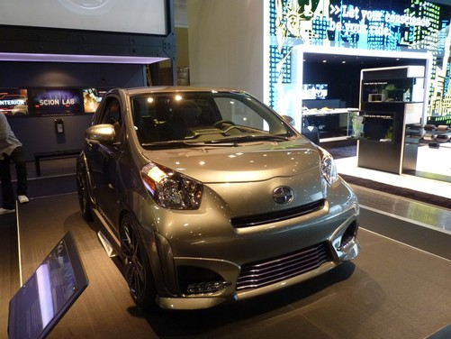 Scion iQ Five Axis