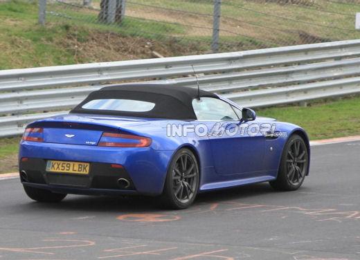 Aston Martin Vantage Roadster spy - Foto 8 di 8