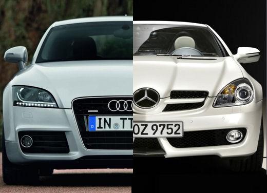 Audi TT - Mercedes Benz SLK