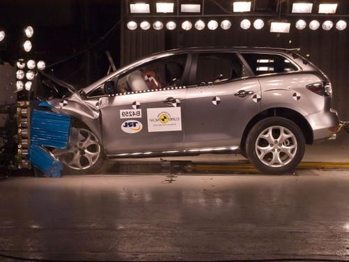 Mazda CX 7, 4 Stelle EuroNCAP