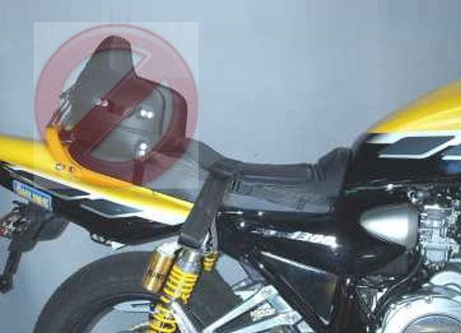 Codice della strada: niente seggiolino nelle moto