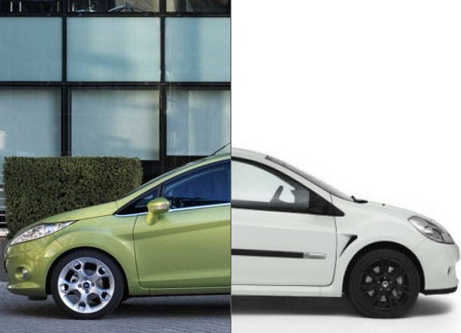 Ford Fiesta - Renault Clio