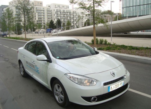 Renault Fluence elettrica – Test Drive