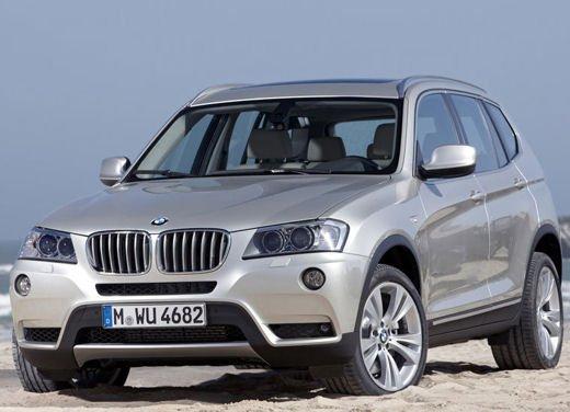 Nuova BMW X3 svelata da BMW con un set fotografico ufficiale che ritrae tutti i dettagli della nuova BMW X3