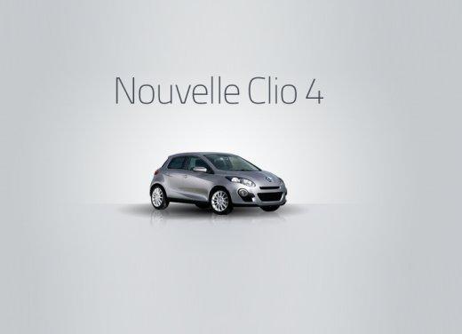 Nuova Renault Clio, prima immagine