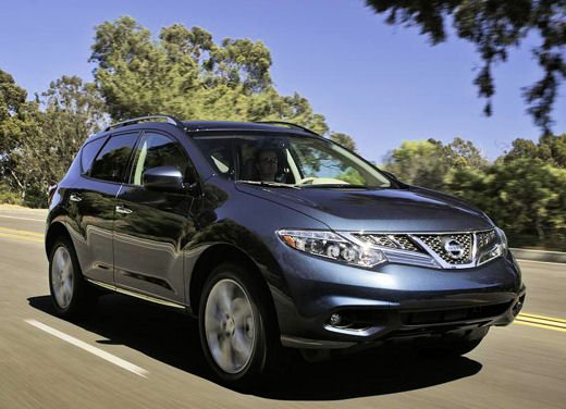 Nissan Murano 2011 specifiche USA