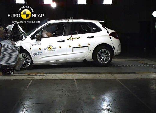 Nuova Citroen C4 conquista 5 stelle Euroncap