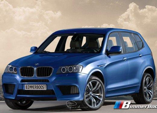 BMW X3 M anticipata da un rendering. Probabili 350 puledri per la tedesca