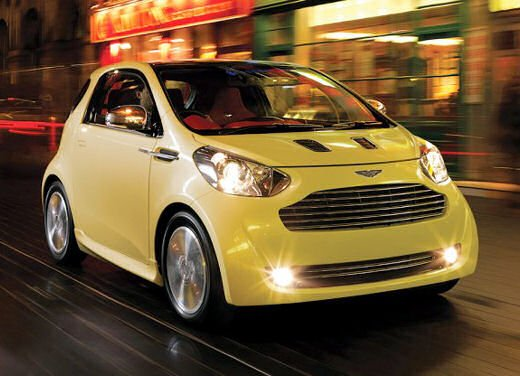 Aston Martin Cygnet in commercio nel 2011