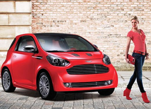 Aston Martin Cygnet in USA
