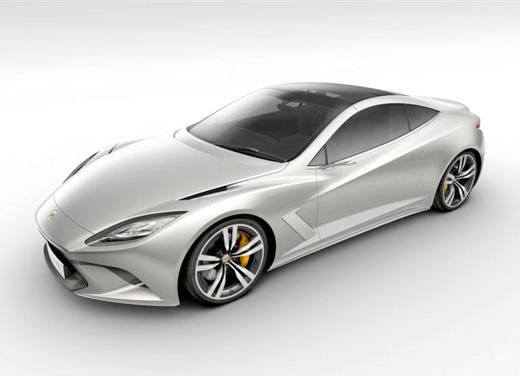 Lotus presenta Elite al Salone di Parigi