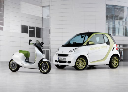 smart fortwo electric drive a Eicma 2010 - Foto 18 di 26