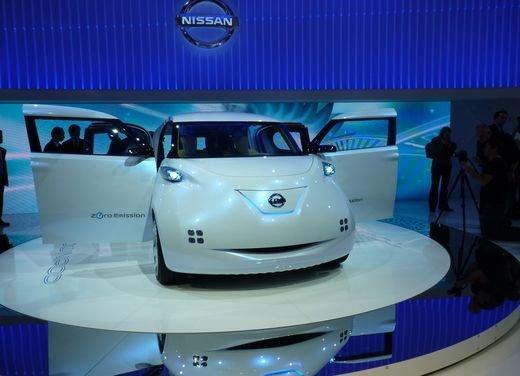 Nissan Townpod Concept al Salone di Parigi 2010