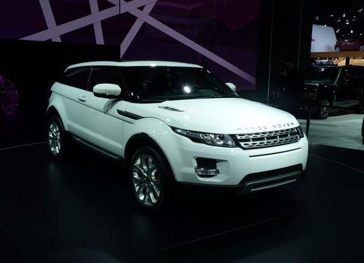 Range Rover Evoque al Salone di Parigi 2010