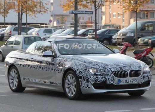 BMW Serie 6 Cabrio: immagini spia prima della presentazione al Salone di Los Angeles