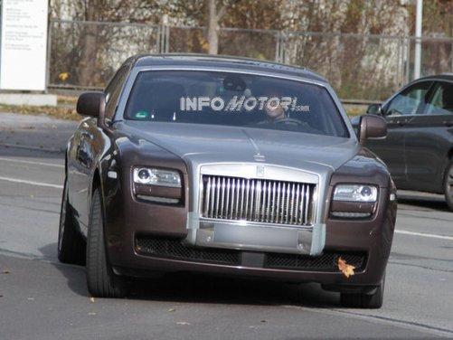 Rolls-Royce Ghost foto spia