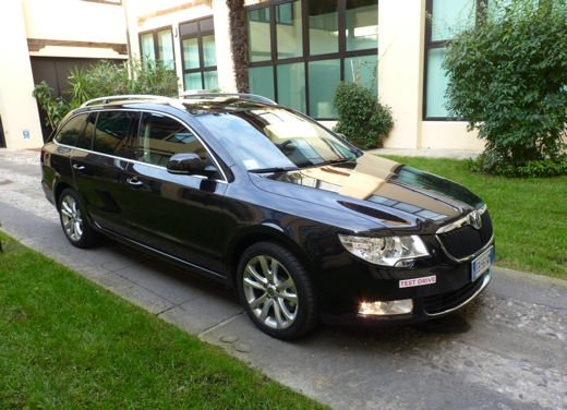 Skoda Superb wagon Long Test Drive