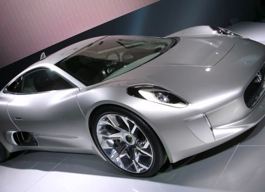 Jaguar C-X75 al salone di Los Angeles - Foto 16 di 19