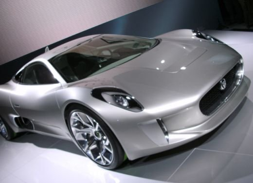 Jaguar C-X75 al salone di Los Angeles - Foto 18 di 19