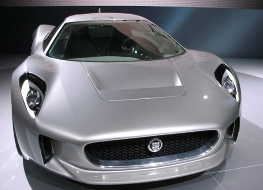 Jaguar C-X75 al salone di Los Angeles - Foto 2 di 19