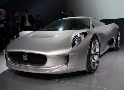 Jaguar C-X75 al salone di Los Angeles - Foto 3 di 19