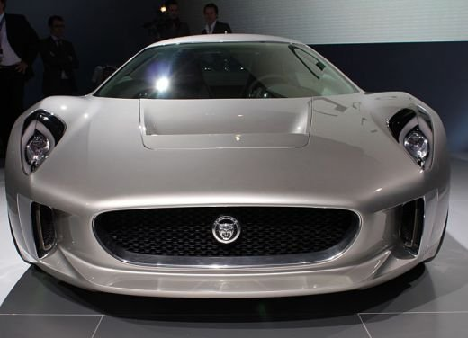 Jaguar C-X75 al salone di Los Angeles - Foto 4 di 19