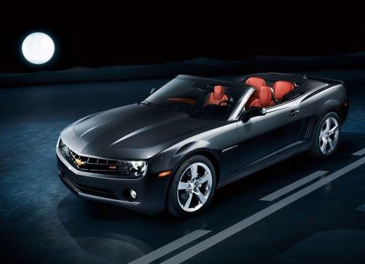 Chevrolet Camaro Convertible debutta al Salone di Los Angeles