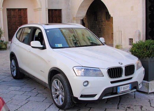 Nuova BMW X3 Test Drive a Matera della seconda generazione di X3